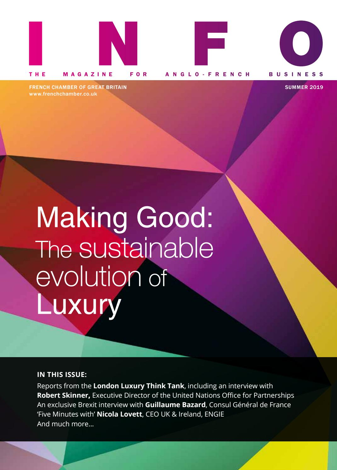 Design Construction Et Associés Granville making good: the sustainable evolution of luxuryfrench