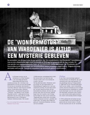 Page 14 of De 'wondermotor' van Wardenier is altijd een mysterie gebleven