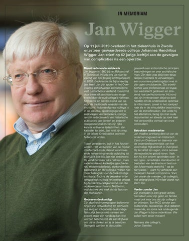 Page 24 of In memoriam - Jan Wigger