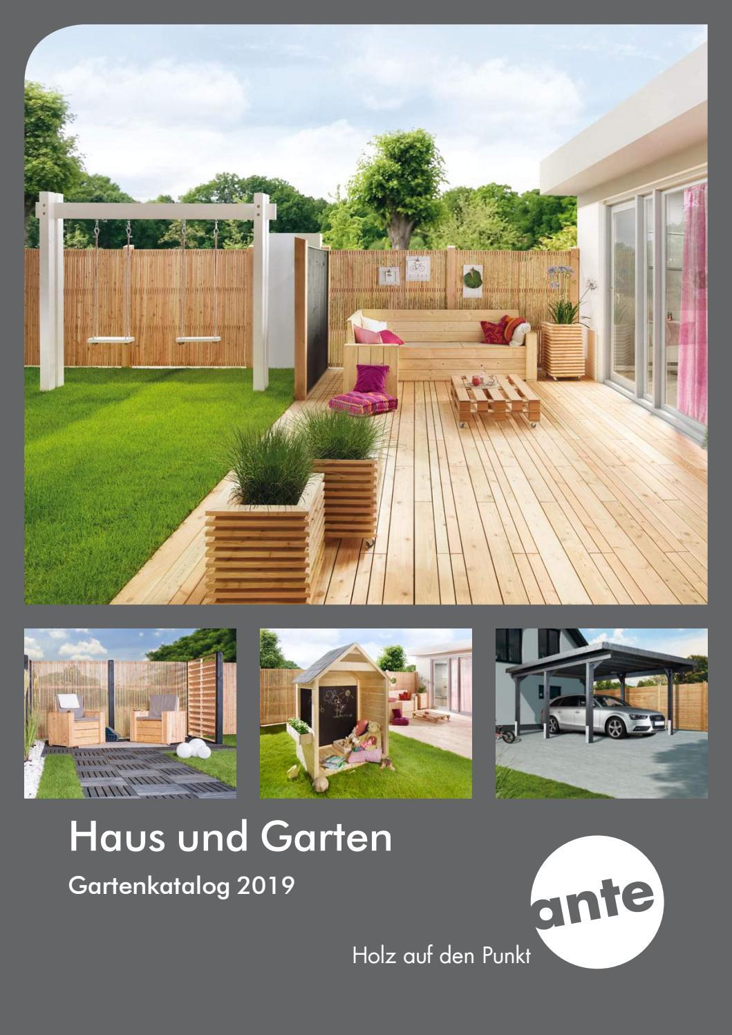 Ante Haus Und Garten 2019 By Holzland Verbeek Issuu