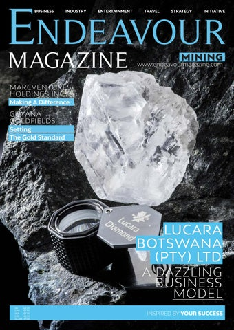 Endeavour Mining by Littlegate Publishing - issuu