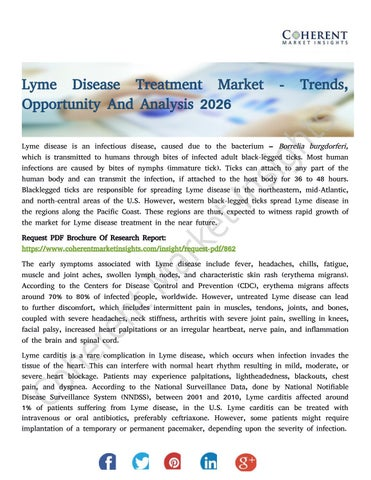 Lyme Disease Treatment Market - Trends, Opportunity And Analysis 2026