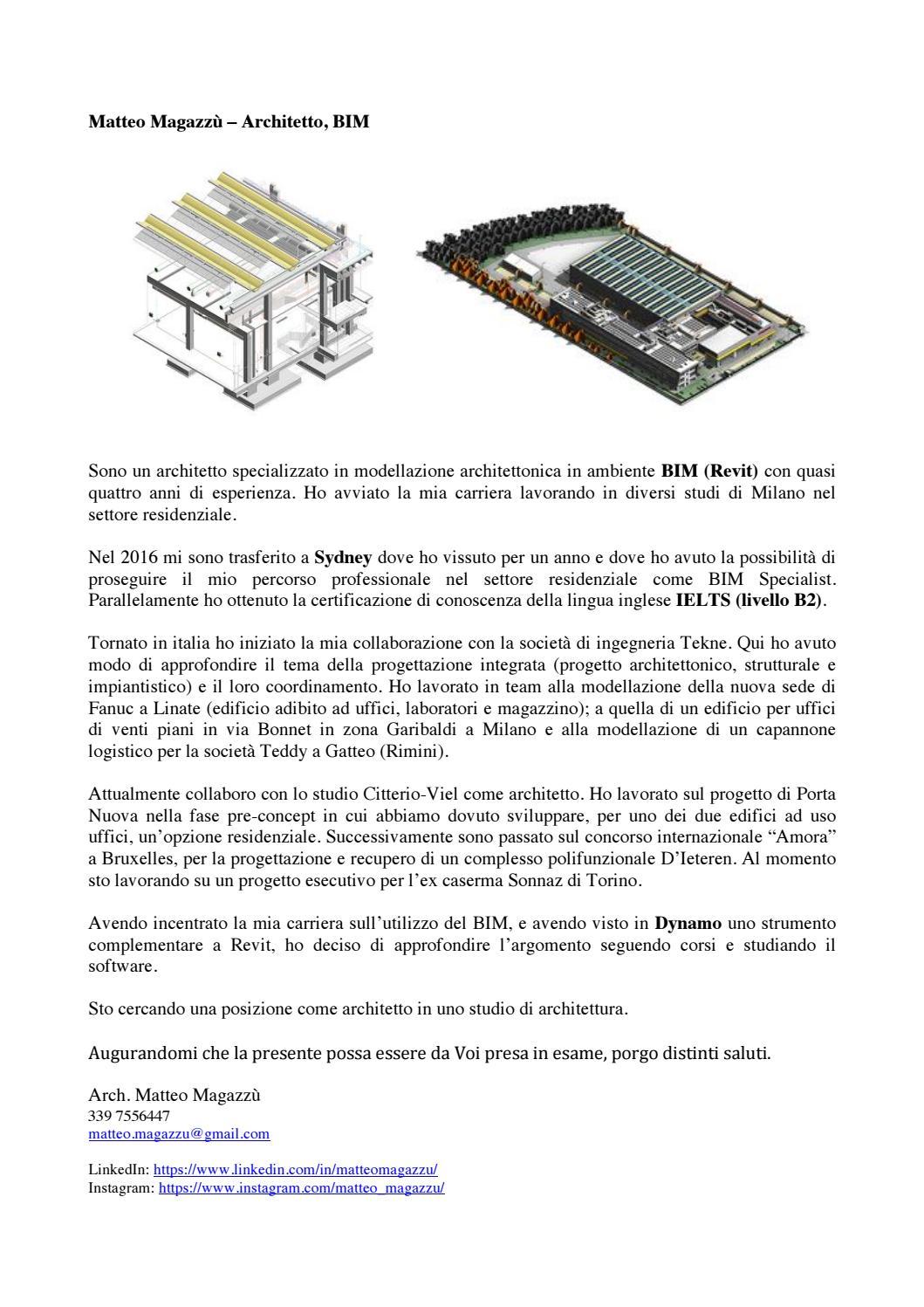 Studio Di Architettura In Inglese arch. matteo magazzù - cv/portfolio 2019 by matteo magazzù