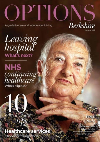 Options Berkshire - A guide to care and independent living