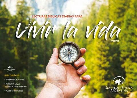Calendario 2020 By Sociedad Bíblica Argentina Issuu
