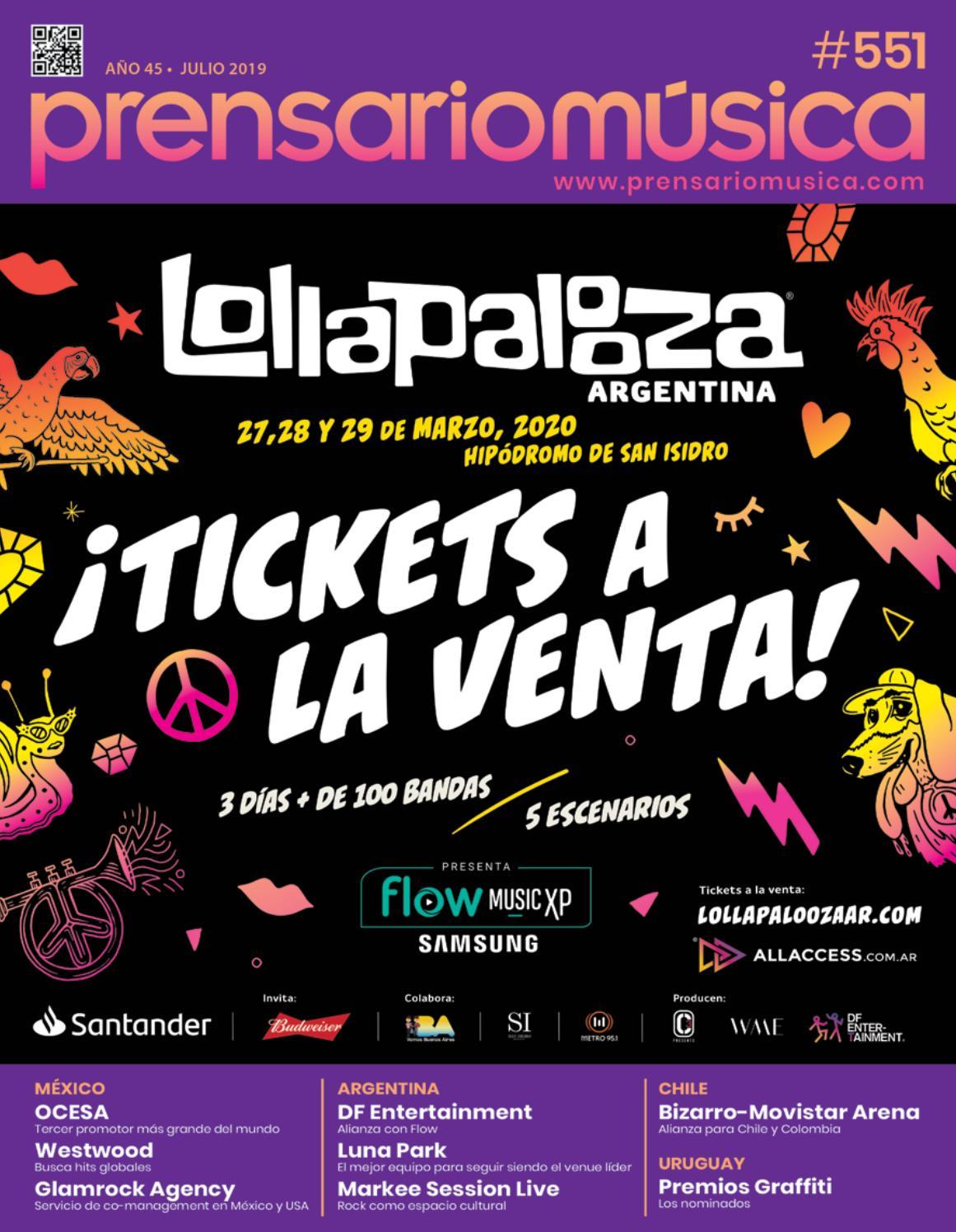 db665254 Prensario Música: Julio 2019 by Prensario - issuu