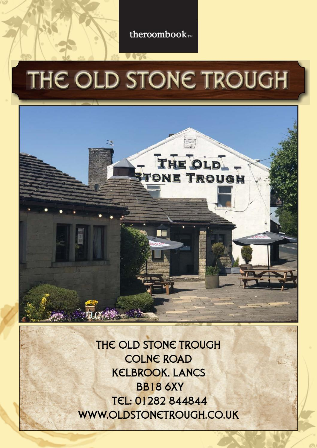 Pendle And Burnley Old Stone Trough By Theroombook Issuu