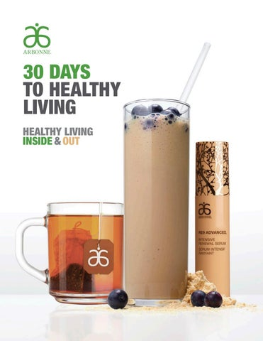 30 Days to Healthy Living Nutrition Guide by Linda