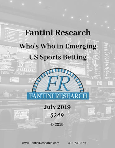 Whos who in sports betting horse racing 101 betting trends
