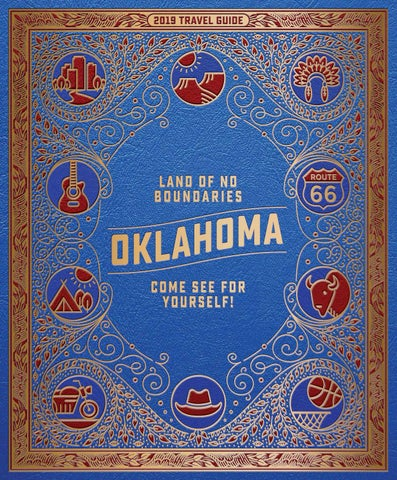 c4148bf3d 2019 Oklahoma Travel Guide by Oklahoma Tourism & Recreation ...
