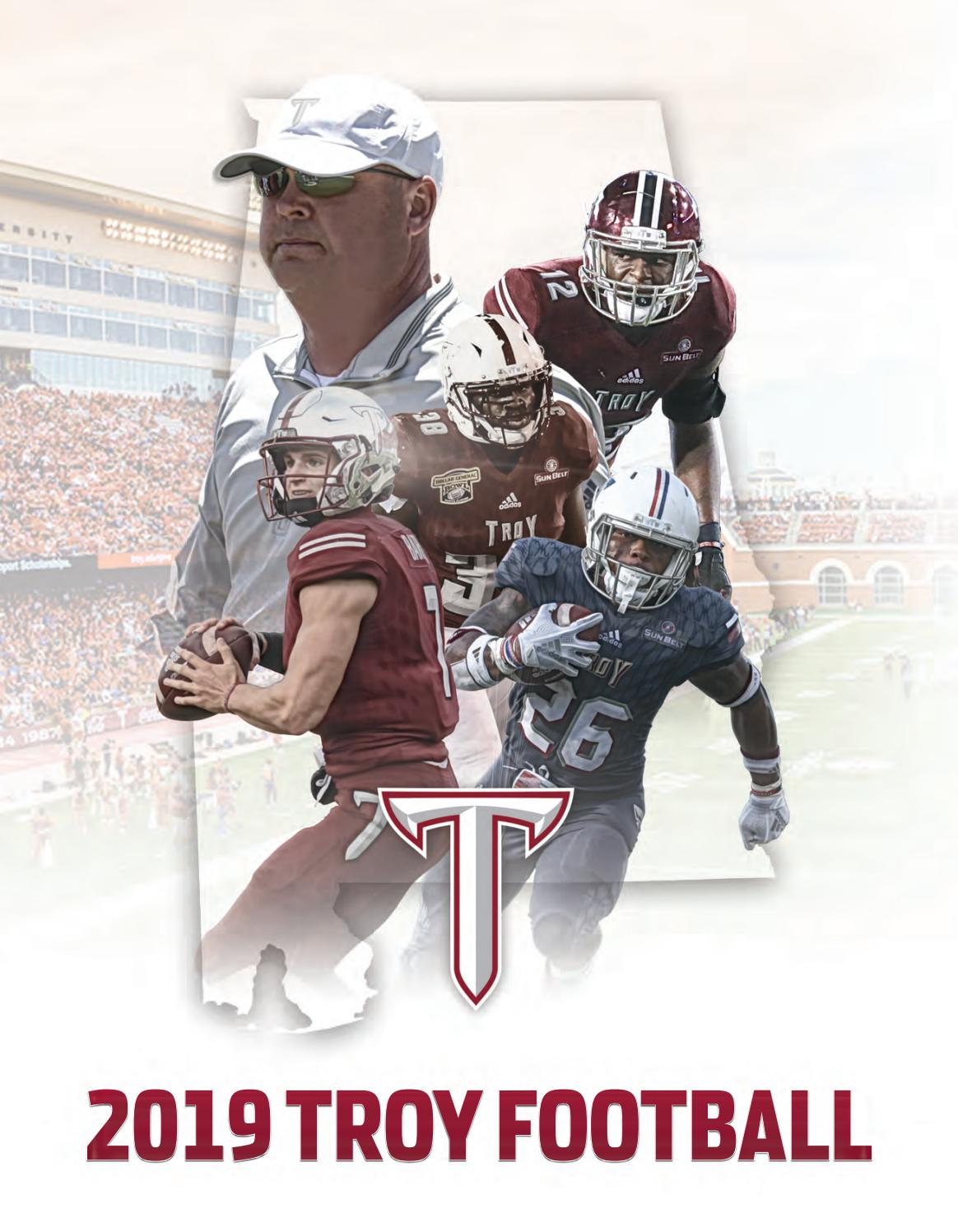 2019 Troy Football Media Guide By Troy University Athletics Issuu