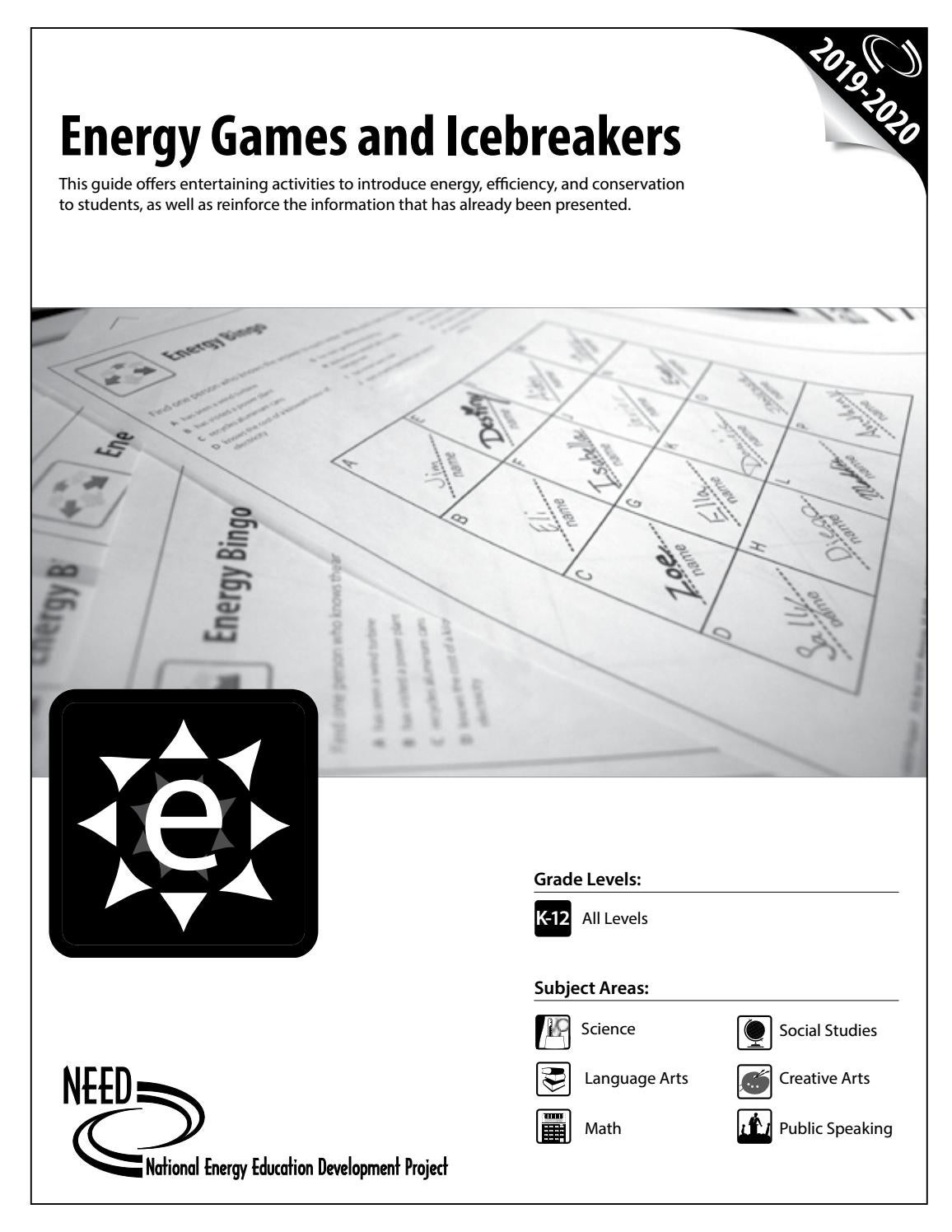 Energy Games And Icebreakers By Need Project Issuu [ 1496 x 1156 Pixel ]
