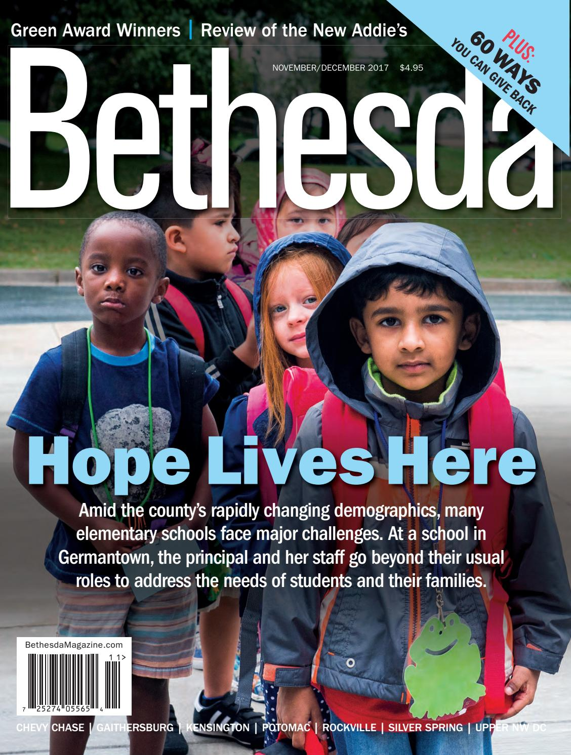 Bethesda Magazine: November-December 2017 by Bethesda Magazine - issuu