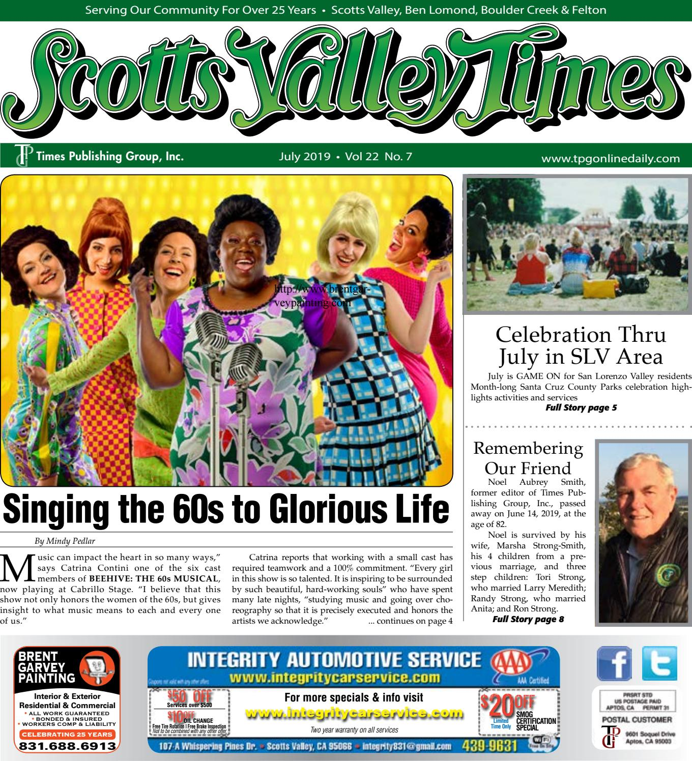 Scotts Valley Times: July 2019