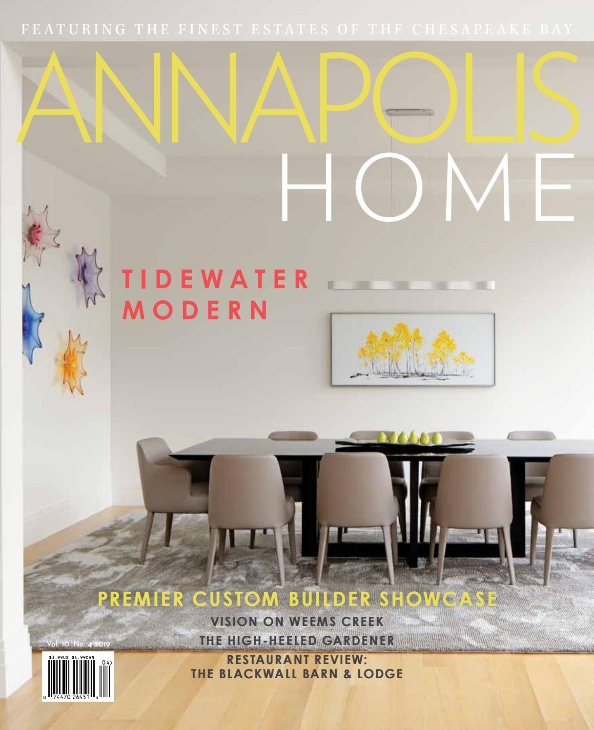Annapolis Home Magazine July August