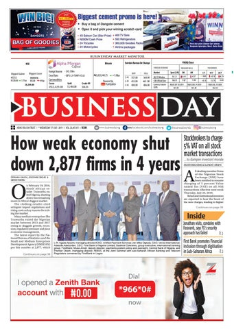 BusinessDay 17 Jul 2019 by BusinessDay - issuu