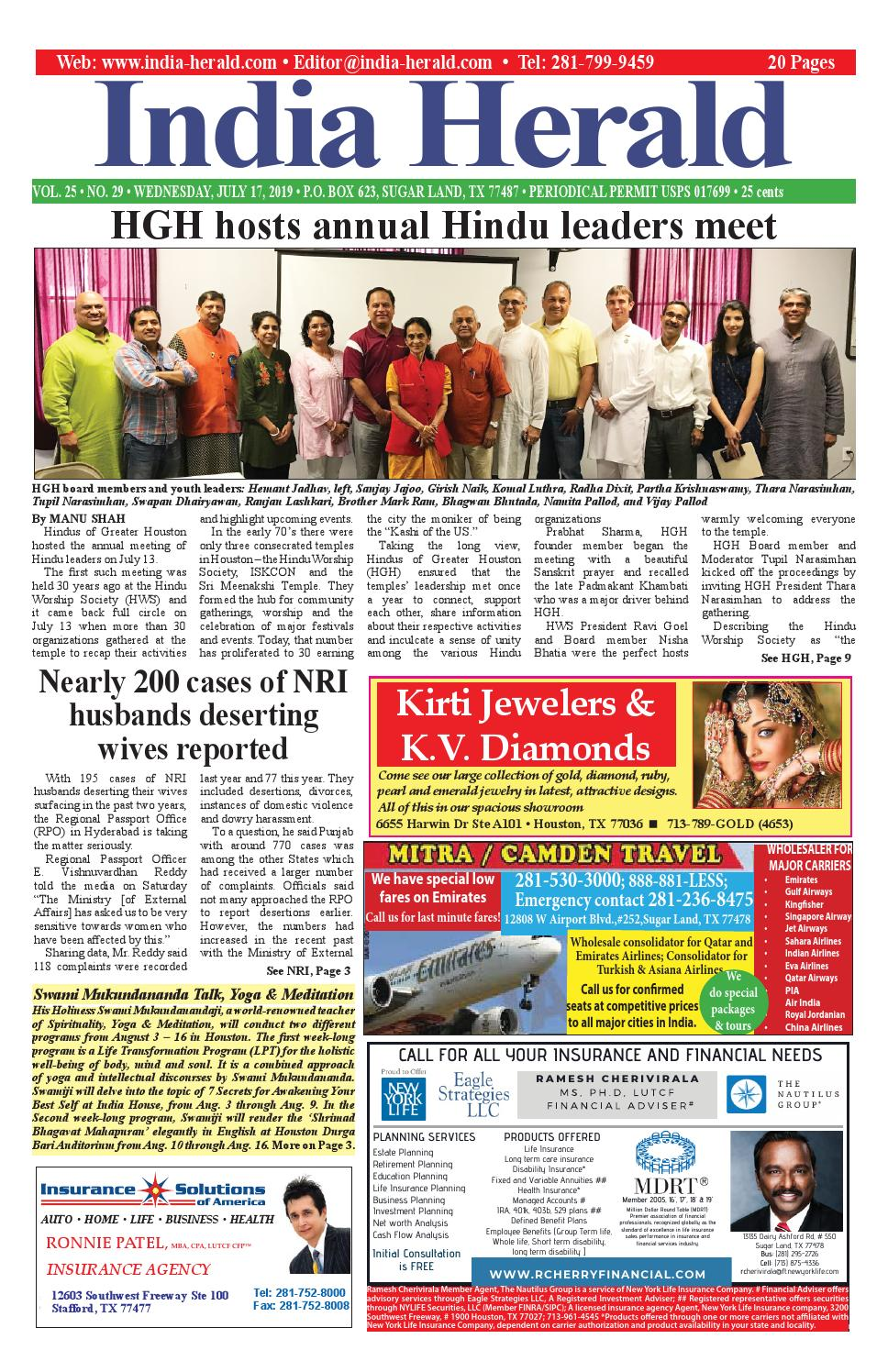 India Herald 071719 by Fort Bend Independent - issuu