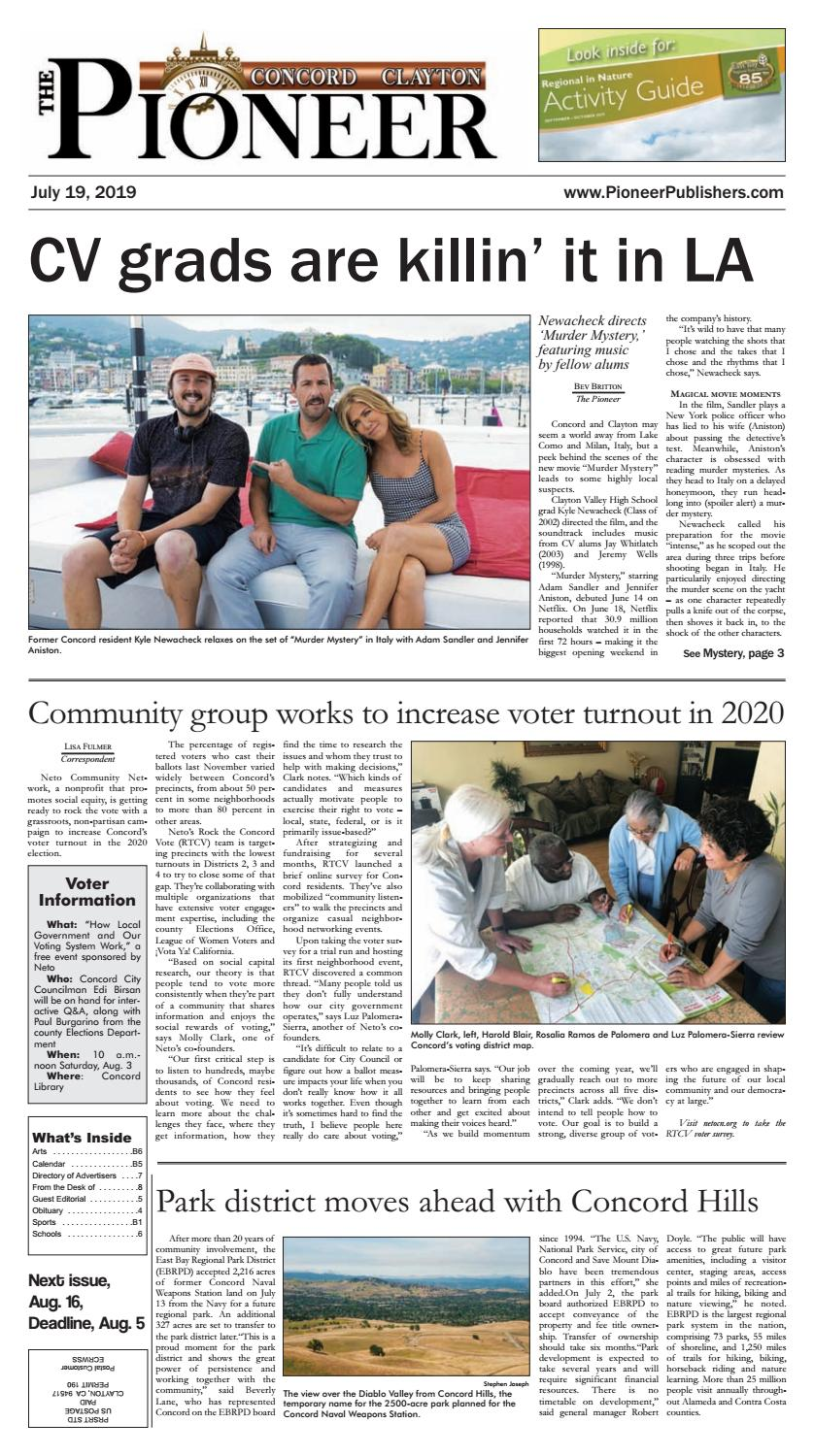 JUL 19 The Pioneer 2019 by Pioneer Publishers - issuu
