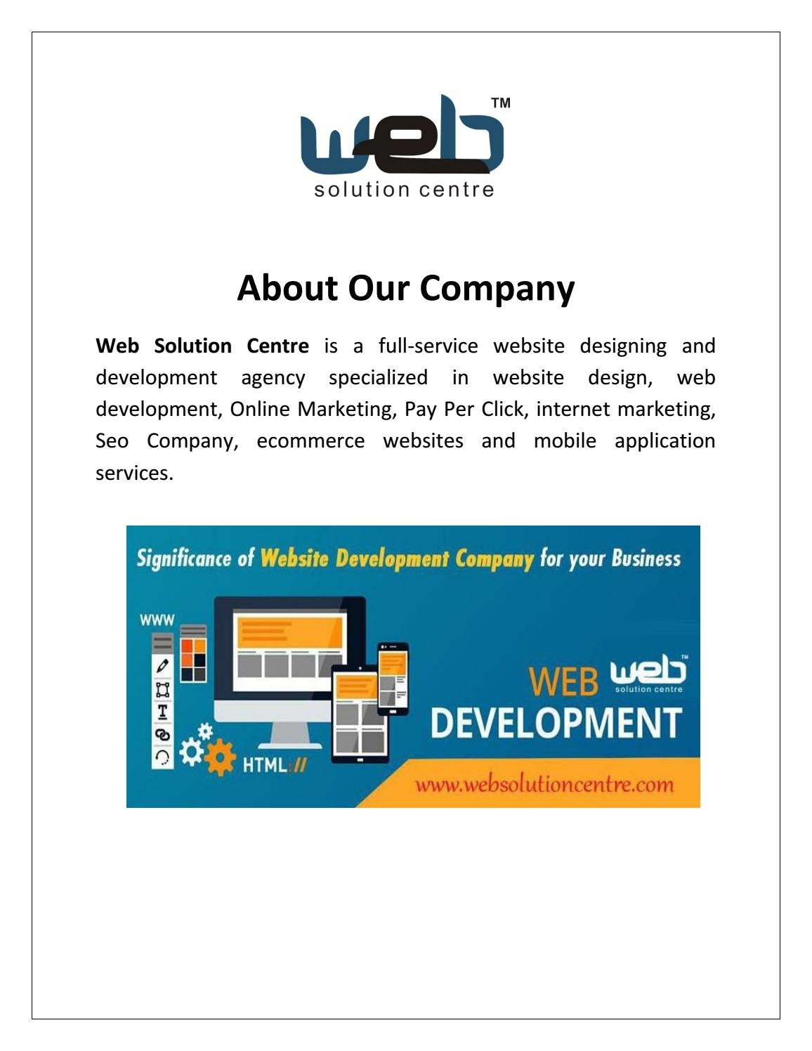 Website Development Company In Delhi India By Seocwebompanydelhi Issuu