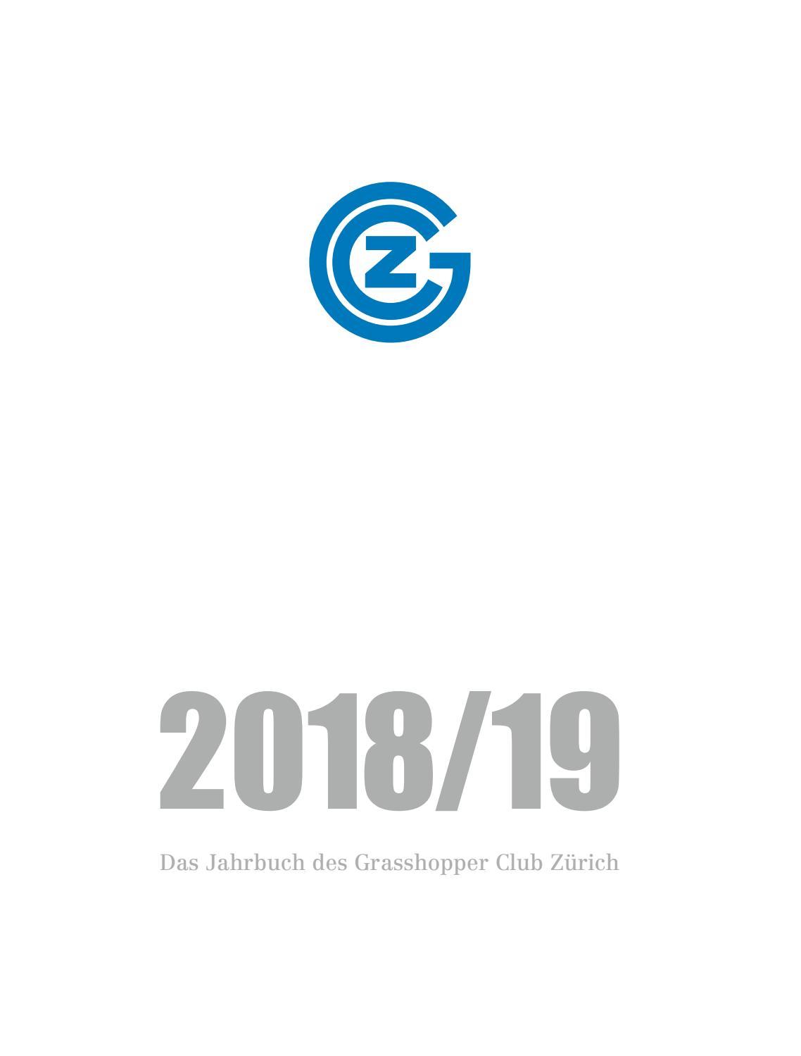 Gc Jahrbuch 2018 19 By Michael Koch Issuu