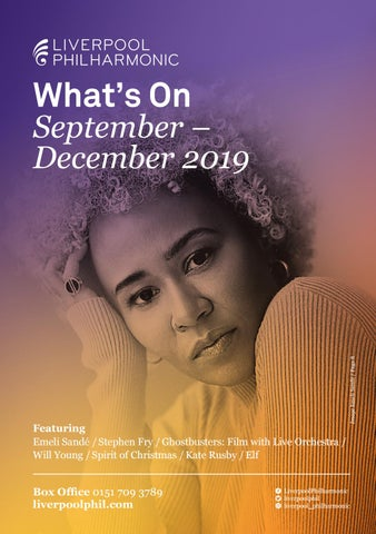 What's On Guide September - December 2019 by Liverpool