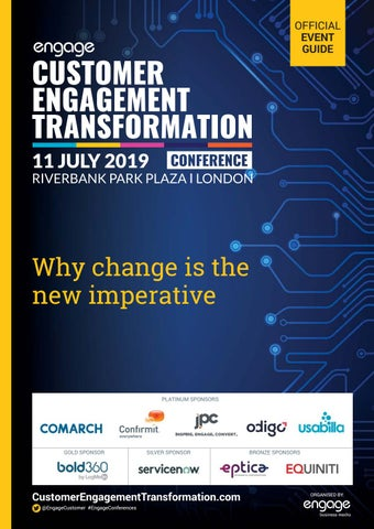 2019 Customer Engagement Transformation Conference by Engage