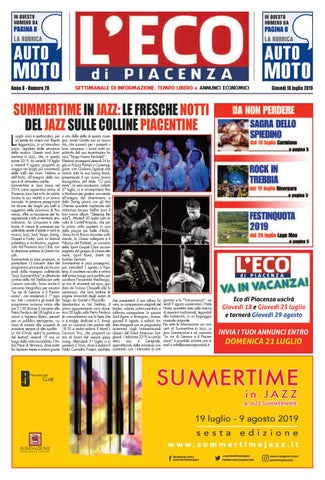 96065e1cde07 Eco di Piacenza 18/07/2019 by Eco di Piacenza - issuu