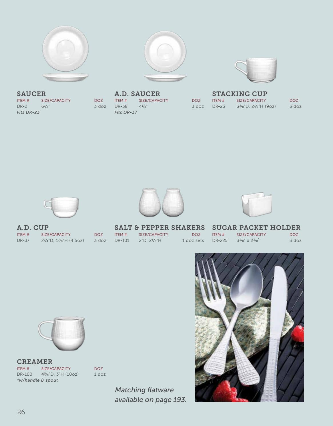 2018 ITI Catalog by International Tableware Inc  - issuu