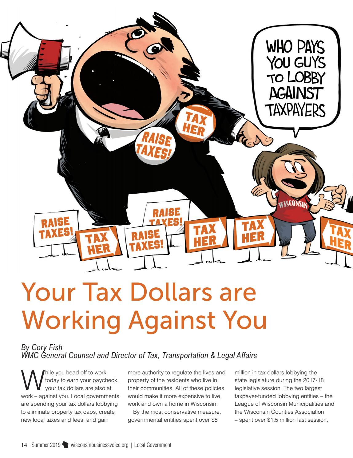 Wisconsin Business Voice - Summer 2019 by Wisconsin