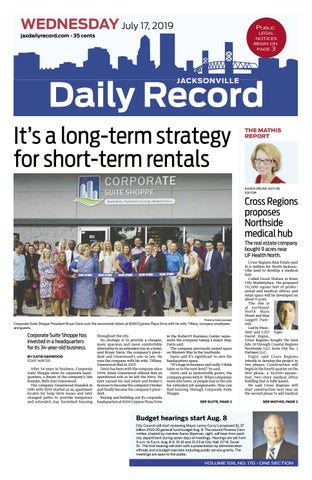 Jacksonville Daily Record 7 17 19 By Daily Record Observer Llc Issuu