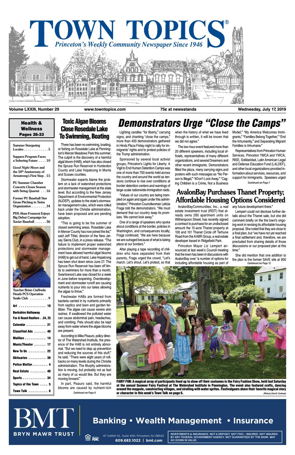 Town Topics Newspaper, July 17th by Witherspoon Media Group - issuu