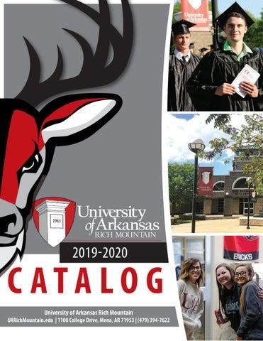 Tia Carroll December 2020 Calendar UA Rich Mountain Catalog 2019 2020 by University of Arkansas Rich