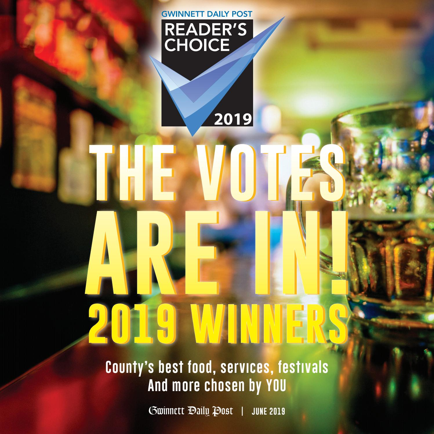 The 2019 Reader's Choice by Gwinnett Daily Post Special