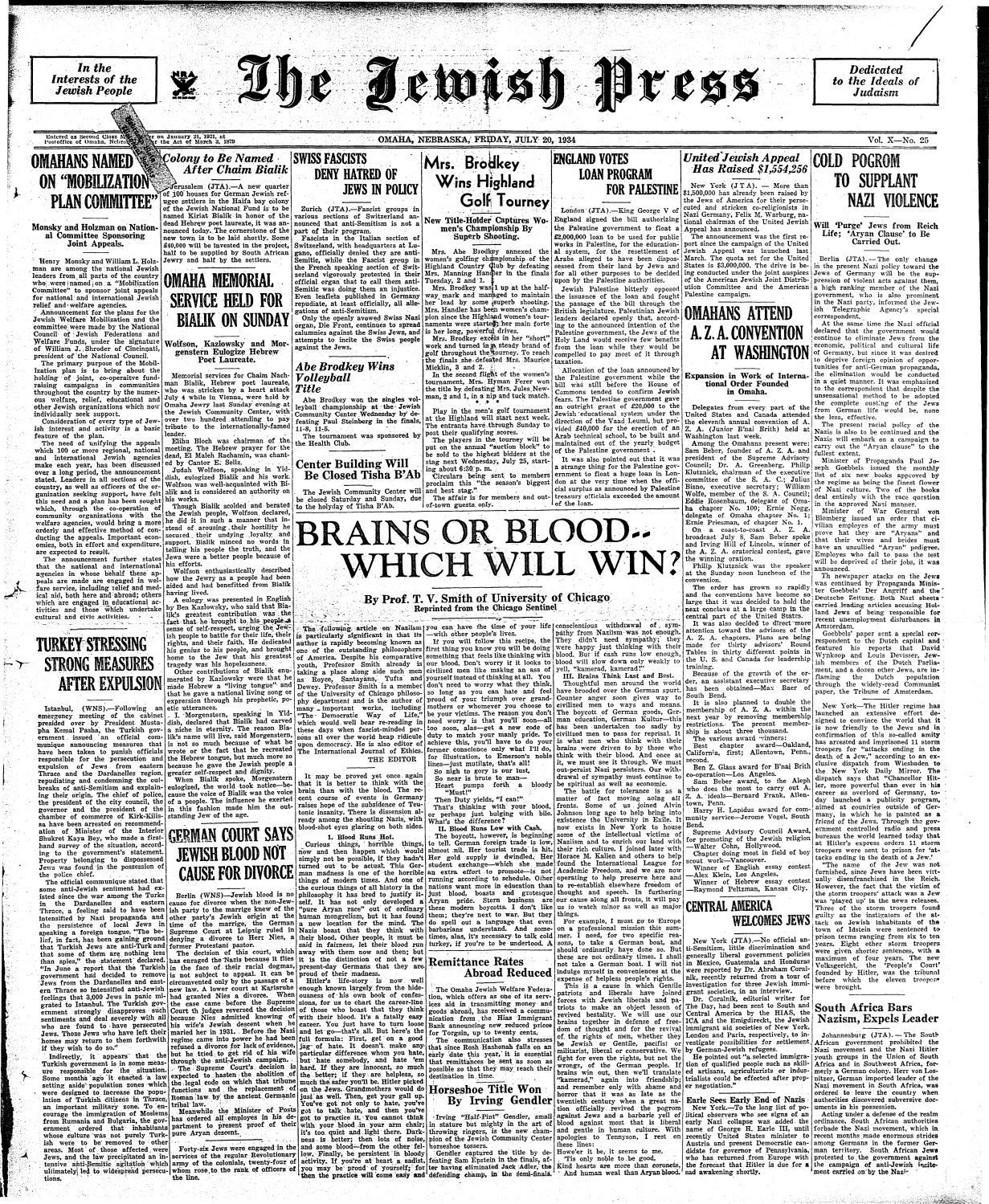 July 20, 1934 by Jewish Press - issuu