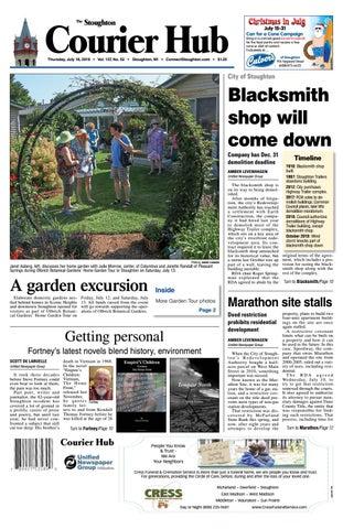 7/18/19 Stoughton Courier Hub by Woodward Community Media - issuu