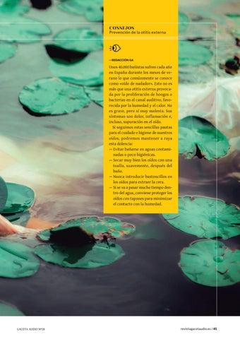 Page 41 of Verano y «oído de nadador» ¿Podemos prevenirlo?
