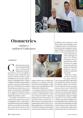 Page 48 of Otometrics equipa a Audiored-Valdemoro