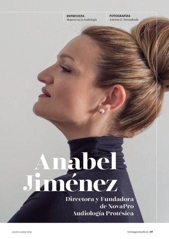 Page 69 of Mujeres en la Audiología: Entrevista a Anabel Jiménez