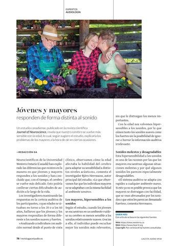 Page 78 of Jóvenes y mayores responden de forma distinta al sonido