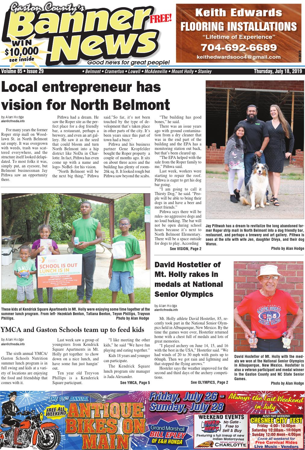 Banner-News 7-18-19 by Community First Media - issuu