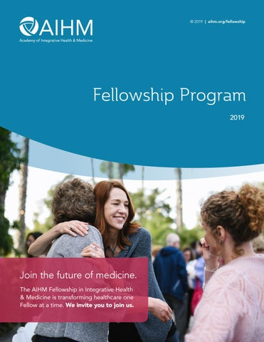AIHM Fellowship Brochure by AIHMGlobal - issuu