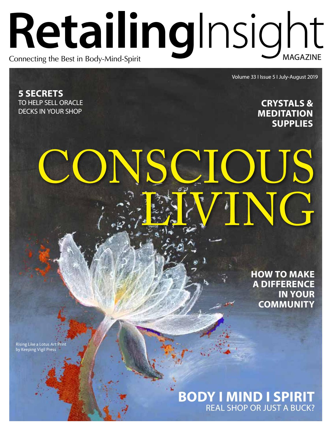 1128086067073 Conscious Living/ July-August 2019 by Retailing Insight Magazine - issuu