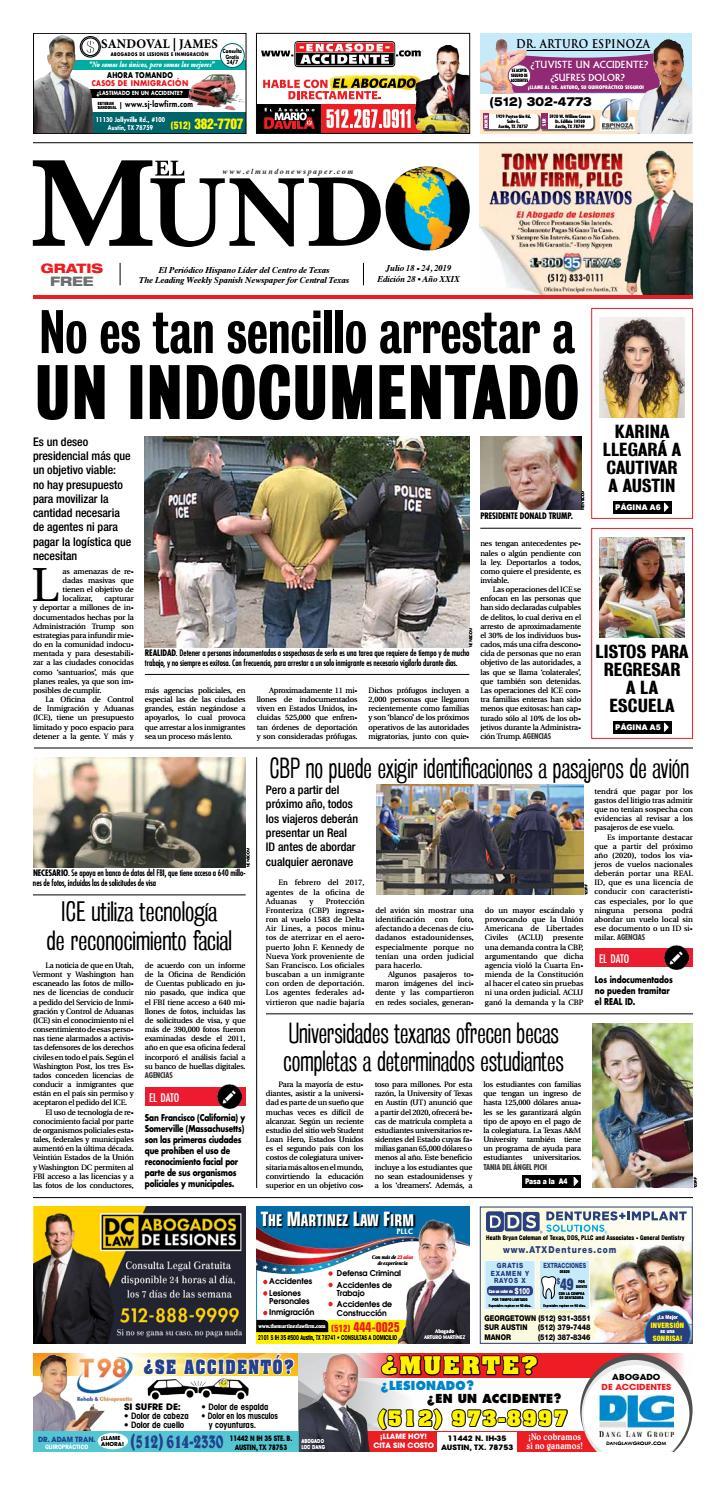 El Mundo Newspaper 28 2019 By El Mundo Newspaper Issuu
