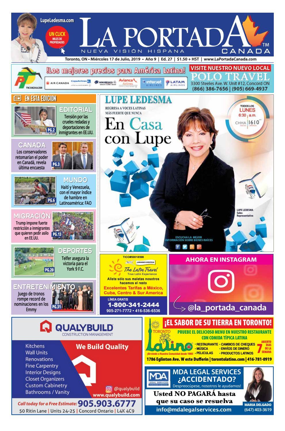 dec7bb5eecce La Portada Canada by Comercio Latino - issuu