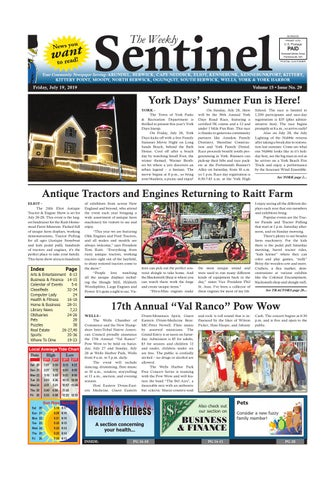 WS July 19, 2019 by Weekly Sentinel - issuu