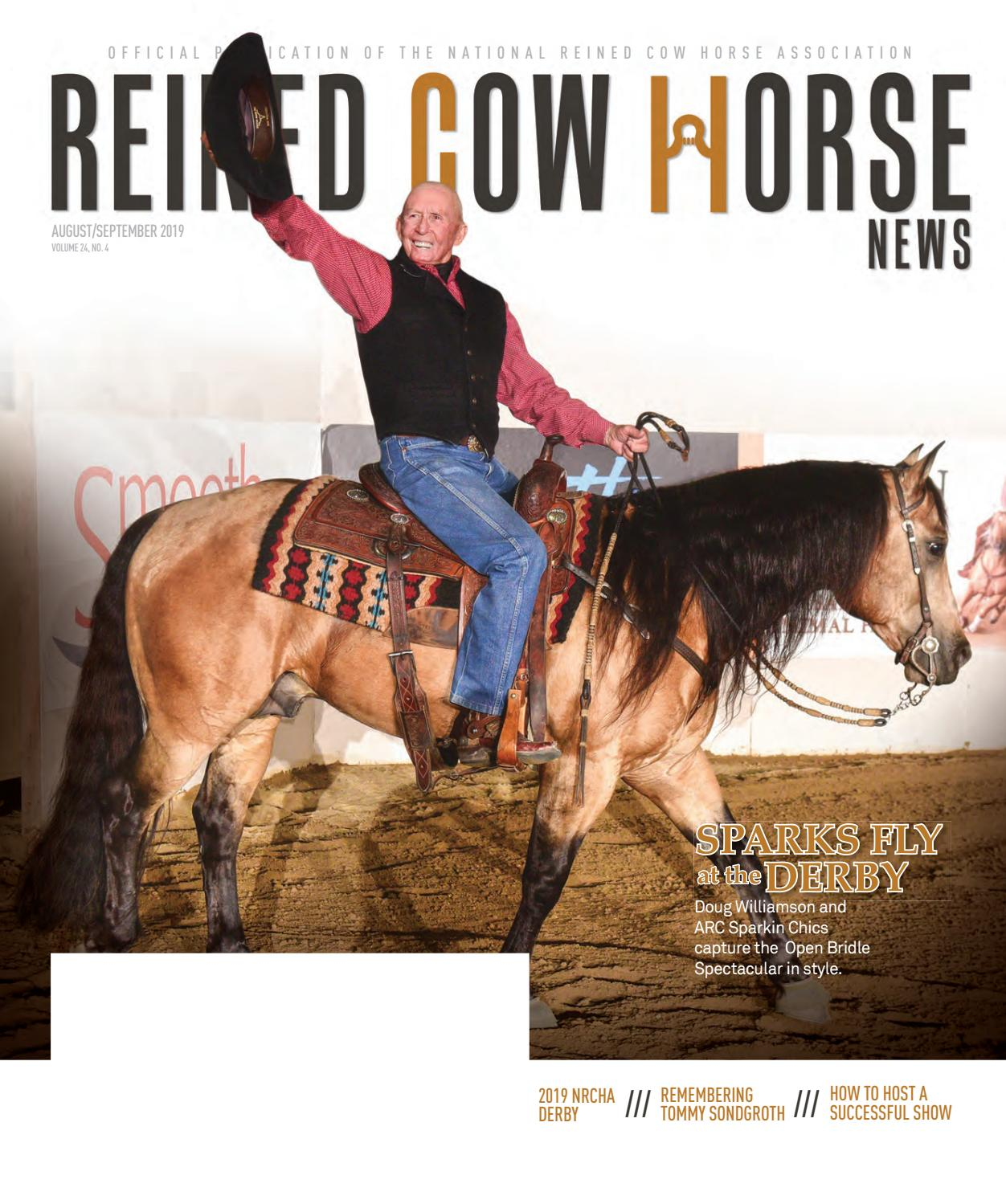 Reined Cow Horse News