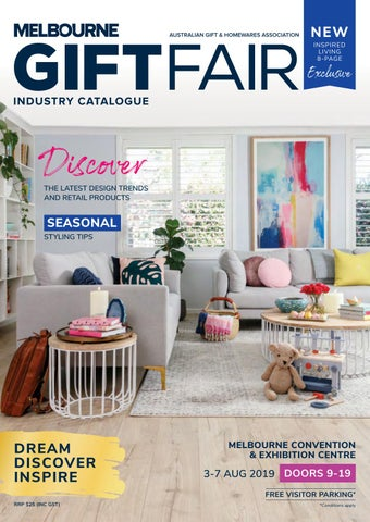68829ac2a8c AGHA Melbourne Gift Fair 2019, Industry Catalogue by octomedia-au ...