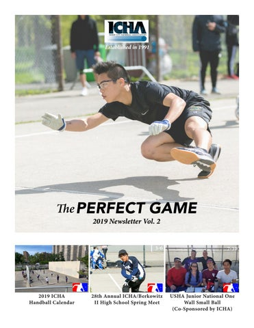 Perfect Game 2019 Newsletter Vol  2 by Ichandball - issuu