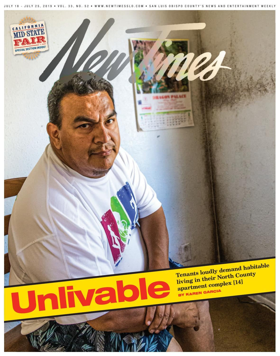 New Times July 18 2019 By New Times San Luis Obispo Issuu