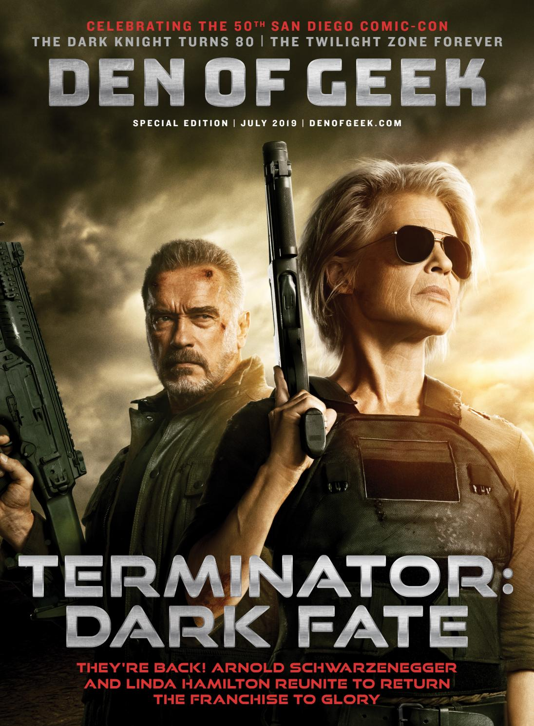 Sdcc 2019 Exclusive Terminator Dark Fate Limited Edition Hall H Poster Print
